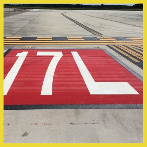 Airfield Runway Marking Fort Worth