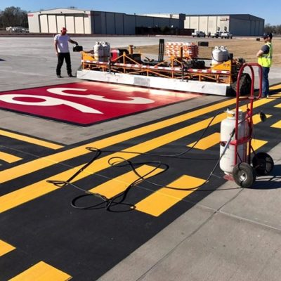 Airfield Striping Runway Striping Company