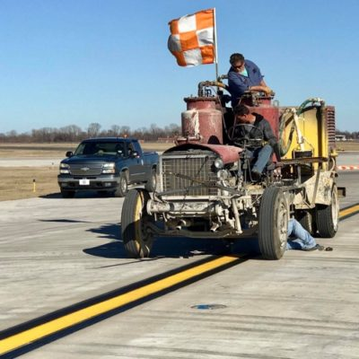 Airfield Striping Runway Striping Company Fort Worth