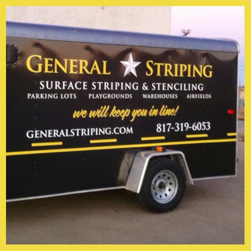 General Striping Ft Worth Parking Lot Striping