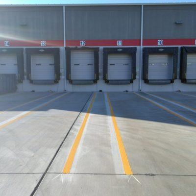 parking lot stiripng