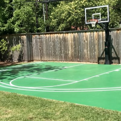 Keller Painter Basketball Court Lines