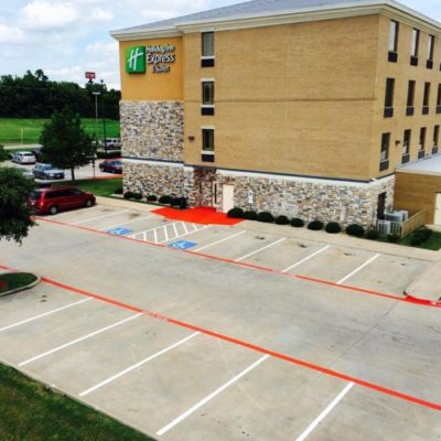 Best Parking Lot Lines Painter Fort Worth