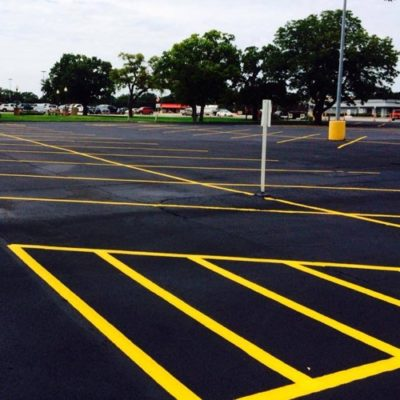 Top Parking Lot Striping Company DFW