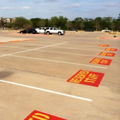 Top Fort Worth Parking Lot Striping