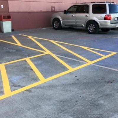Parking Lot Striping Southlake