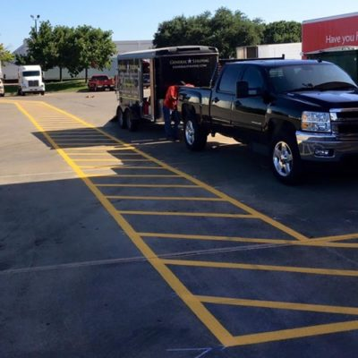 Best Parking Lot Striping Company Fort Worth
