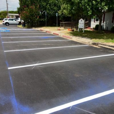 Parking Lot Striping Colleyville