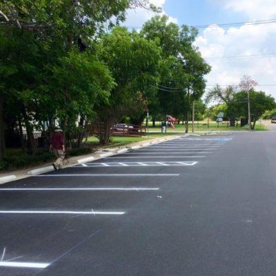 Parking Lot Striping Roanoke