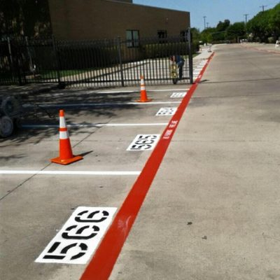 Best Church Parking Lot Striping DFW