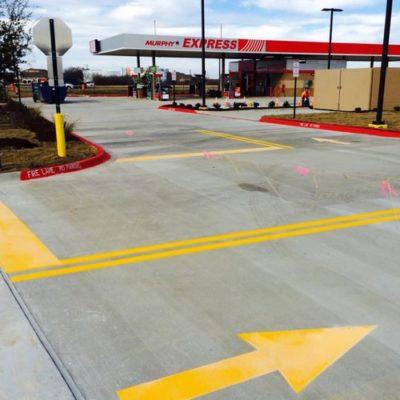 Dallas Highway Marking Company Fort Worth