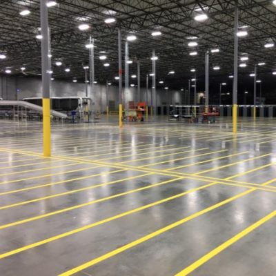 Warehouse Striping DFW General Striping LLC