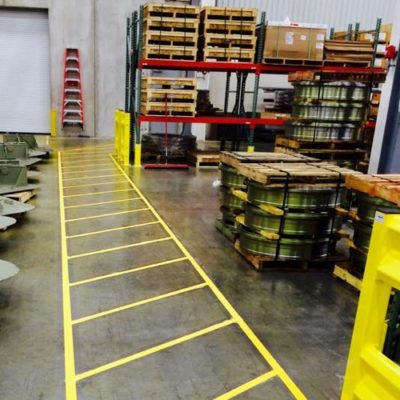 Commercial Warehouse Stenciling Marking Dallas Ft Worth