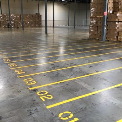 Best Warehouse Striping Company Fort Worth