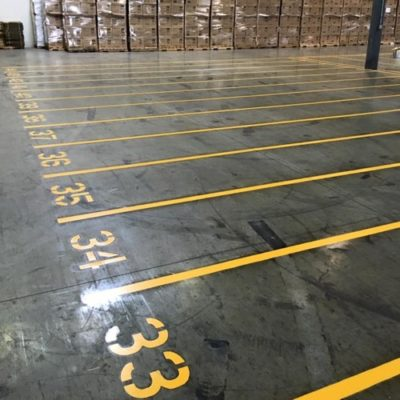 Best Ft Worth Warehouse Striping Painter