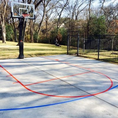 Basketball Court Striping Keller
