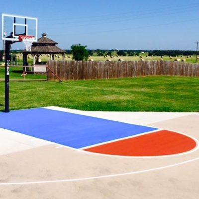 Outdoor Basketball Court Lines Grapevine