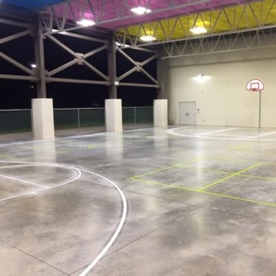 Athletic Court Concrete Striping Dallas