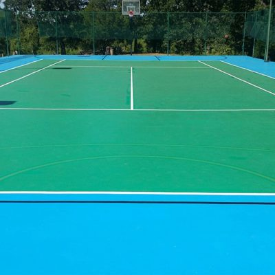 Combo tennis BB court (subdued BB)